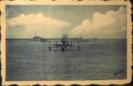 CPA. > AVIATION MARITIME à CHERBOURG - Hydravion G.L. Prenant La Bouée - BE - Cherbourg
