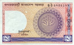 Bangladesh 1 Taka, P-6Ba (1982) - AUNC - Sign. Varity - Bangladesh