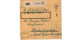 Allemagne  - Colis Postal  - Départ Zweibrücken - Allemagne