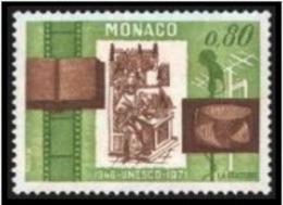 TIMBRE MONACO - 1971 - Nr 857 - NEUF - Monaco