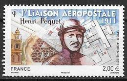 France 2011 Poste Aérienne N° 74, Henri Pequet, à La Faciale - Poste Aérienne