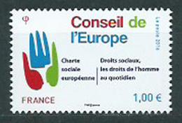 Año 2016 Nº 168 Consejo De Europa - Mint/Hinged