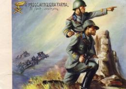 "49° REGGIMANTO ARTIGLIERIA ""PARMA"" - NON VIAGGIATA - Regiments"