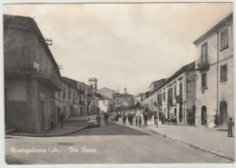 MONTEFALCIONE AVELLINO VIA ROMA F/G VIAGGIATA 1962 - Other Cities
