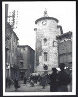 France,Hyères ( VAR) Marché,animé .photo Véritable  Situé Année 1951 - Lieux