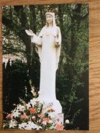 Prière à Notre Dame De Beauraing Imprimatur J.M. Huet 1996 - Devotieprenten