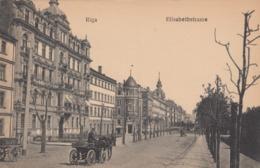 RIGA , Latvia , 1900-10s ; Elisabethstrasse - Lettonie