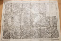 Carte Générale De La Suisse 1:250000 - Blatt II - 1936 - Zürich - St. Gallen - Bodensee - Chur - Luzern (~75 X 55 Cm) - Topographical Maps
