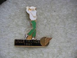Pin's Golf à LILLE France En 1991 - Golf