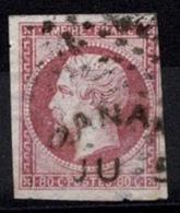 France Napoléon III 1854 - YT N°17 - Oblitéré - 1853-1860 Napoléon III