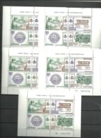 ESPAÑA-  2641 H.B. Museo Postal -5 Hojitas   Nuevas Sin Fijasellos Precio Por Debajo Valor Facial (según Foto) - Blocs & Hojas