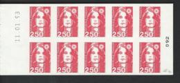 Carnet  2720-C2  A - Timbres Sans Prédécoupe Date Du 11/01/93 - Markenheftchen