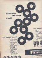 (pagine-pages)PUBBLICITA' PIRELLI   Tempo1955/18. - Libri, Riviste, Fumetti