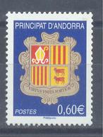 Año 2007 Nº 633 Escudos - Andorra Francesa
