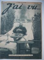 WW I  ;J'AI VU : 1916 : ZEPPELINS Sur PARIS .HINDENBURG . CHAMPAGNE .CUIRASSES-SALONIQUE. . MINES FLOTTANTES ...Etc... - Newspapers