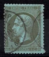 France Napoléon III 1862 - YT N°19 - Oblitéré - 1862 Napoléon III