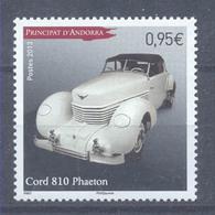 Año 2013 Nº 737 Automovil Cord Phaeton - Andorra Francesa