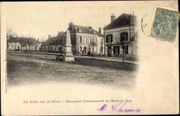 Cp La Selle Sur Le Bied Loiret, Monument Commémoratif Des Morts De 1870 - France