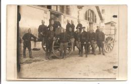 MILITARIA - Groupe De Militaires, 105 ème Régiment D'artillerie Lourde. Carte Photo - Guerre 1914-18