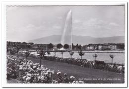 Genéve, Quai Gustave Ador Et Le Jet D'eau - GE Genève
