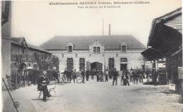 Brienne-le-Château NA1: Etablissements Baudry Frères. Cour De Devant Sur Le Boulevard - France