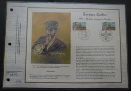 FRANCE Feuillet CEF De 1984 N°719 Jacques Cartier (2307) - Documenten Van De Post