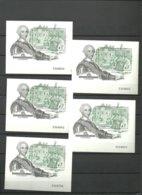 ESPAÑA- H.B.2984 Carlos III Y La Ilustración -5 Hojitas Nuevas Sin Fijasellos Precio Debajo Valor Facial (según Foto) - Blocs & Hojas