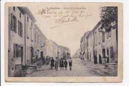 CP 11 PEXIORA Entrée De La Grand Rue - Other Municipalities
