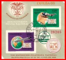 COLOMBIA AÑO 1969 EXFILBA 89 BARRANQUILLA - Colombia
