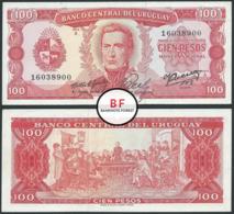 Uruguay   100 Pesos   1967   P.47a   Sig.5   16038900   GXF/aUNC - Uruguay