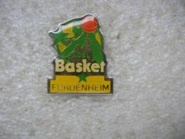 Pin's Du Club De L'ACSL Basket Furdenheim (Dépt 67) - Basketball