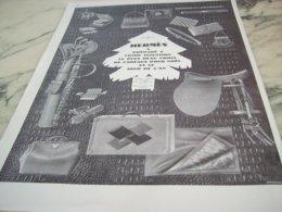 ANCIENNE  PUBLICITE POUR VOS CADEAUX  DE NOEL  HERMES   1927 - Unclassified