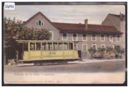 LAUSANNE - AUBERGE DE LA SALLAZ - TRAMWAY - B ( USURE AUX ANGLES ) - VD Vaud