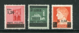 ITALIE- Y&T N°452 à 454- Neufs Sans Charnière ** - Neufs