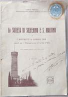 SOCIETÀ SOLFERINO E S. MARTINO - MONUMENTI EROI 1927 (70919) - Musica