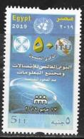 EGYPT, 2019, MNH,  WORLD TELECOMMUNICATIONS DAY, ITU,1v - Telecom