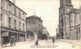 Carte Postale ANCIENNE De  GARCHES - Rue De Suresnes - Frankrijk