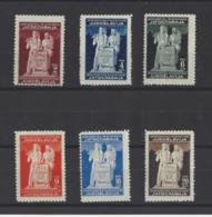 YOUGOSLAVIE.   YT   N° 434/439  Neuf *  1945 - Neufs