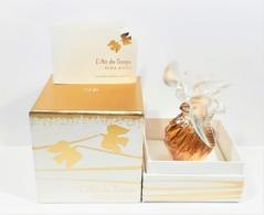 Flacon L'AIR  Du TEMPS  De NINA RICCI PARFUM 15 Ml  Flacon LALIQUE  COLOMBE DORÉE  Edition Limitée  2677 / 2880 + Boite - Parfum (neu In Originalverpackung)