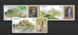 2004 MNH Jersey Postfris** - Châteaux