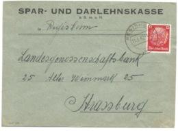 SK20 - REGISHEIM - 1942 - Sur Timbre Hindenburg NON Surchargé Elsass - - Alsace Lorraine
