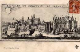 LA VILLE ET CHATEAU DE JARNAC - Jarnac