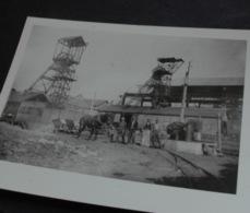 PHOTOS MINES CHEVALEMENTS CHARBONNAGES SAINT HILAIRE Allier Puits Decitre - France