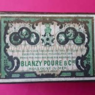 Boite De Plumes BLANZY POURE & Cie - N° 751 F. - Plumes