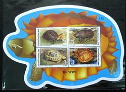Thailand Stamp SS 2004 Turtle - Thailand