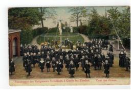 Gierle   Pensionnat Des Religieuses Ursulines,à Gierle Lez-Thielen. Cour Des élèves (plooi Re Boven) - Lille