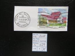 """2018  """" National Museum """" Auf Ausschnitt, Gut Gestempelt   LOT 629 - Malaysia (1964-...)"""