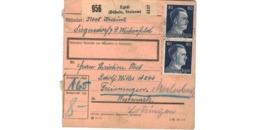 Allemagne  - Colis Postal  - Départ Egidi ( Büheln , Steierm ) - Deutschland