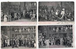 CYRANO DE BERGERAC 4 Cartes - Napoli (Napels)