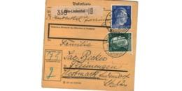 Allemagne  - Colis Postal  - Départ Köln - Lindenthal  - 11-1-43 - Allemagne